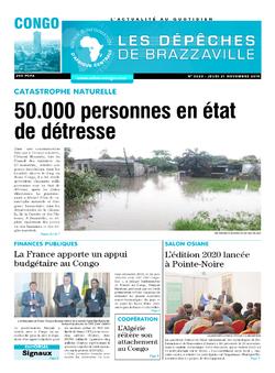 Les Dépêches de Brazzaville : Édition brazzaville du 21 novembre 2019