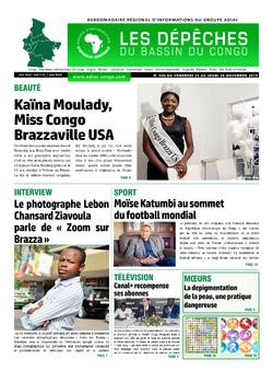 Les Dépêches de Brazzaville : Édition du 6e jour du 23 novembre 2019