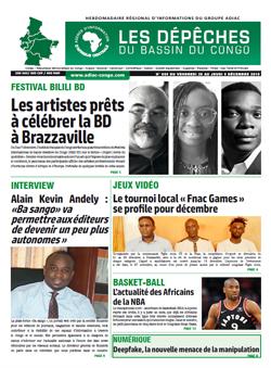 Les Dépêches de Brazzaville : Édition brazzaville du 29 novembre 2019