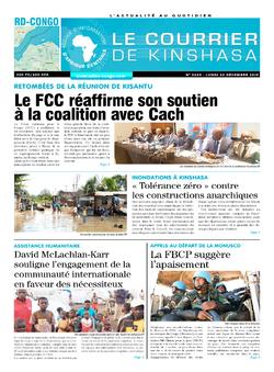 Les Dépêches de Brazzaville : Édition brazzaville du 02 décembre 2019