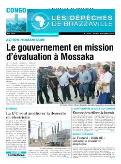 Les Dépêches de Brazzaville : Édition brazzaville du 05 décembre 2019
