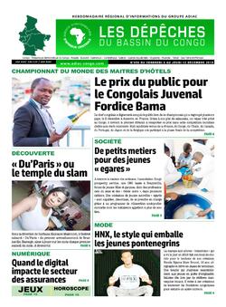 Les Dépêches de Brazzaville : Édition du 6e jour du 07 décembre 2019