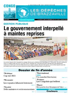 Les Dépêches de Brazzaville : Édition brazzaville du 30 décembre 2019