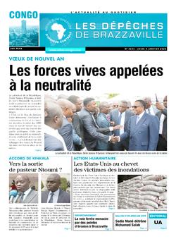 Les Dépêches de Brazzaville : Édition brazzaville du 09 janvier 2020