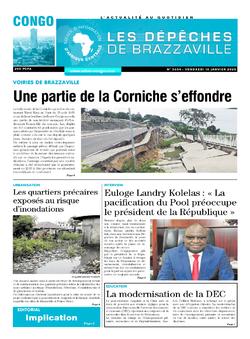 Les Dépêches de Brazzaville : Édition brazzaville du 10 janvier 2020