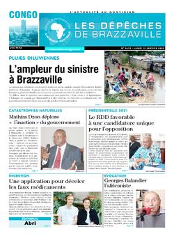 Les Dépêches de Brazzaville : Édition brazzaville du 13 janvier 2020