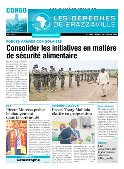 Les Dépêches de Brazzaville : Édition brazzaville du 14 janvier 2020