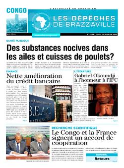 Les Dépêches de Brazzaville : Édition brazzaville du 16 janvier 2020