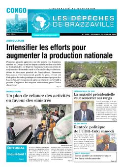 Les Dépêches de Brazzaville : Édition brazzaville du 17 janvier 2020