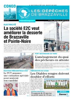 Les Dépêches de Brazzaville : Édition brazzaville du 22 janvier 2020