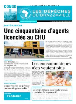 Les Dépêches de Brazzaville : Édition brazzaville du 24 janvier 2020