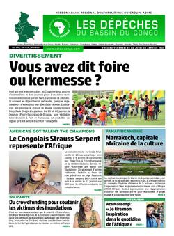 Les Dépêches de Brazzaville : Édition du 6e jour du 25 janvier 2020