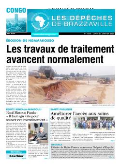 Les Dépêches de Brazzaville : Édition brazzaville du 27 janvier 2020