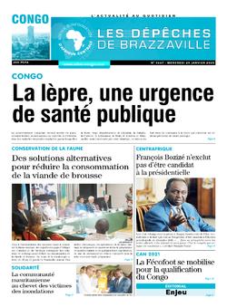 Les Dépêches de Brazzaville : Édition brazzaville du 29 janvier 2020