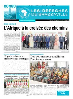 Les Dépêches de Brazzaville : Édition brazzaville du 31 janvier 2020