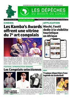 Les Dépêches de Brazzaville : Édition du 6e jour du 01 février 2020