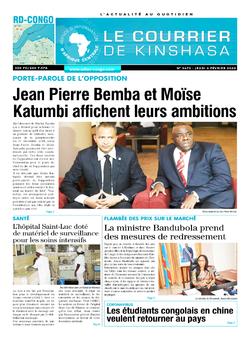 Les Dépêches de Brazzaville : Édition brazzaville du 06 février 2020