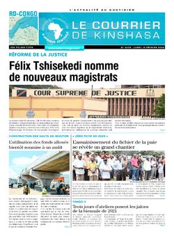 Les Dépêches de Brazzaville : Édition brazzaville du 10 février 2020