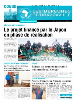 Les Dépêches de Brazzaville : Édition brazzaville du 12 février 2020