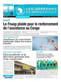 Les Dépêches de Brazzaville : Édition brazzaville du 13 février 2020