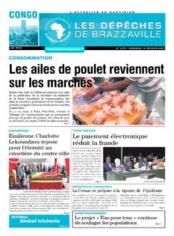 Les Dépêches de Brazzaville : Édition brazzaville du 14 février 2020