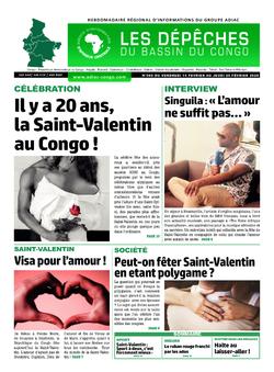 Les Dépêches de Brazzaville : Édition du 6e jour du 15 février 2020