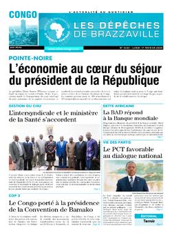 Les Dépêches de Brazzaville : Édition brazzaville du 17 février 2020