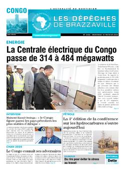 Les Dépêches de Brazzaville : Édition brazzaville du 19 février 2020
