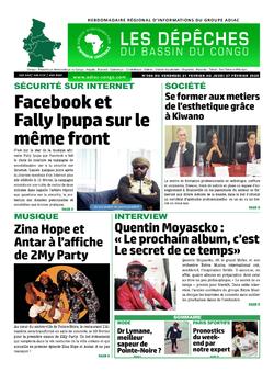Les Dépêches de Brazzaville : Édition du 6e jour du 22 février 2020