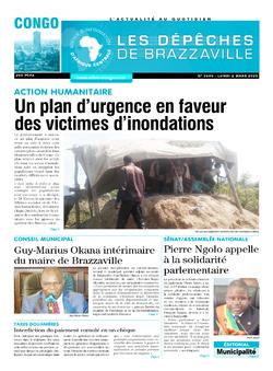 Les Dépêches de Brazzaville : Édition brazzaville du 02 mars 2020