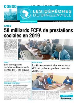 Les Dépêches de Brazzaville : Édition brazzaville du 04 mars 2020