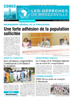 Les Dépêches de Brazzaville : Édition brazzaville du 05 mars 2020