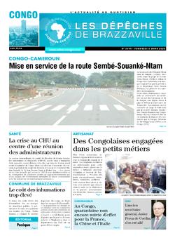 Les Dépêches de Brazzaville : Édition brazzaville du 06 mars 2020