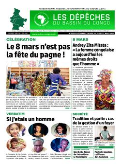 Les Dépêches de Brazzaville : Édition du 6e jour du 07 mars 2020