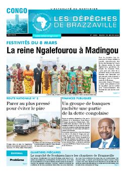 Les Dépêches de Brazzaville : Édition brazzaville du 10 mars 2020