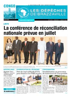 Les Dépêches de Brazzaville : Édition brazzaville du 13 mars 2020