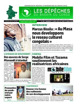 Les Dépêches de Brazzaville : Édition du 6e jour du 14 mars 2020