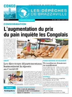 Les Dépêches de Brazzaville : Édition brazzaville du 07 avril 2020
