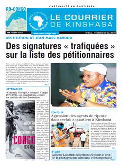 Les Dépêches de Brazzaville : Édition brazzaville du 22 mai 2020