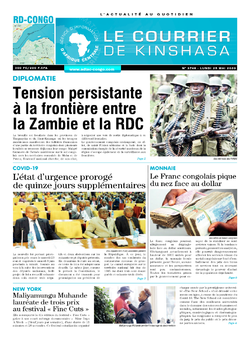 Les Dépêches de Brazzaville : Édition brazzaville du 25 mai 2020