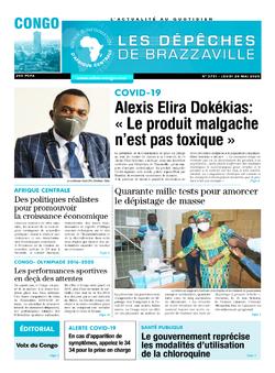 Les Dépêches de Brazzaville : Édition brazzaville du 28 mai 2020