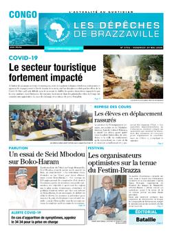 Les Dépêches de Brazzaville : Édition brazzaville du 29 mai 2020