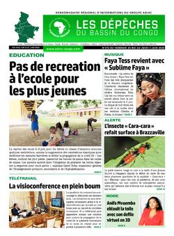 Les Dépêches de Brazzaville : Édition du 6e jour du 30 mai 2020