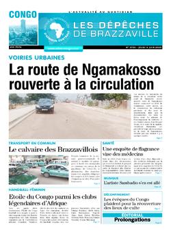 Les Dépêches de Brazzaville : Édition brazzaville du 04 juin 2020