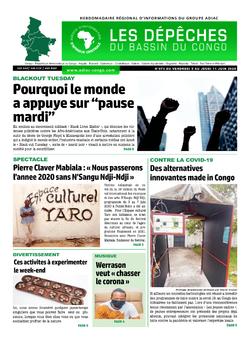 Les Dépêches de Brazzaville : Édition du 6e jour du 06 juin 2020