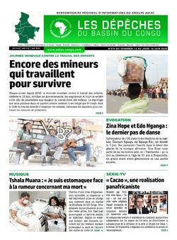 Les Dépêches de Brazzaville : Édition du 6e jour du 13 juin 2020
