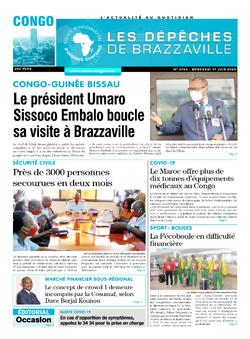 Les Dépêches de Brazzaville : Édition brazzaville du 17 juin 2020