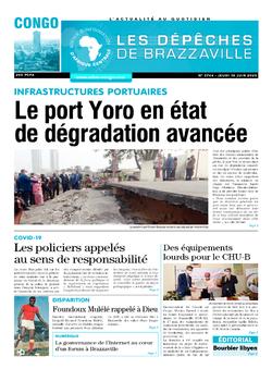 Les Dépêches de Brazzaville : Édition brazzaville du 18 juin 2020