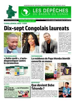 Les Dépêches de Brazzaville : Édition du 6e jour du 20 juin 2020
