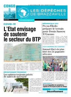 Les Dépêches de Brazzaville : Édition brazzaville du 23 juin 2020